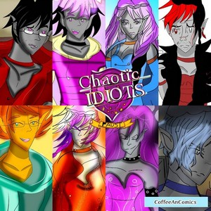 Chaotic Idiots: The Series Cover Art